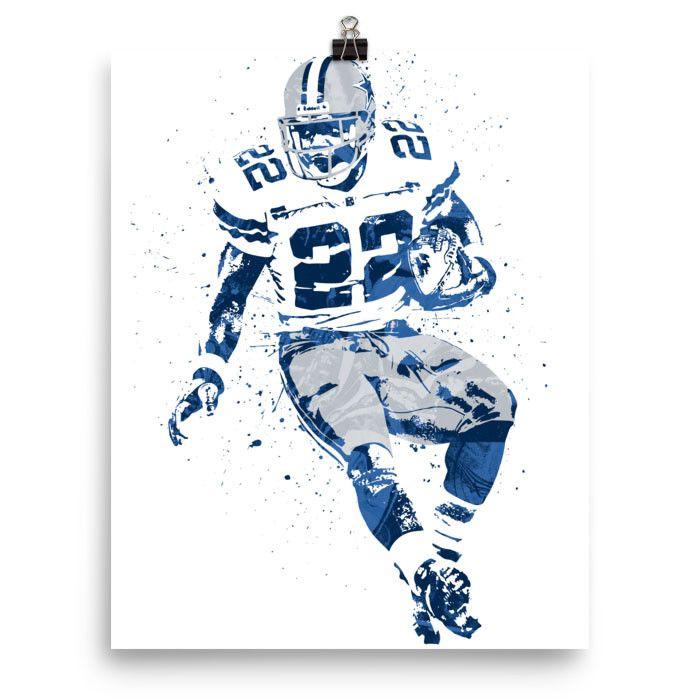 Emmitt Smith Dallas Cowboys Poster