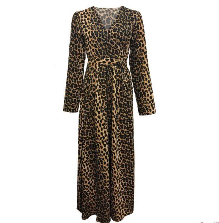 Les Jumelles - Shop now - NIEUW - NIEUW - Leopard Maxi Dress