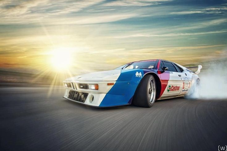 BMW M1 drifting #windscreen #windblocker, #winddeflector http://www.windblox.com/