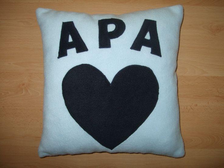 Névre szóló párna / Personalised pillow