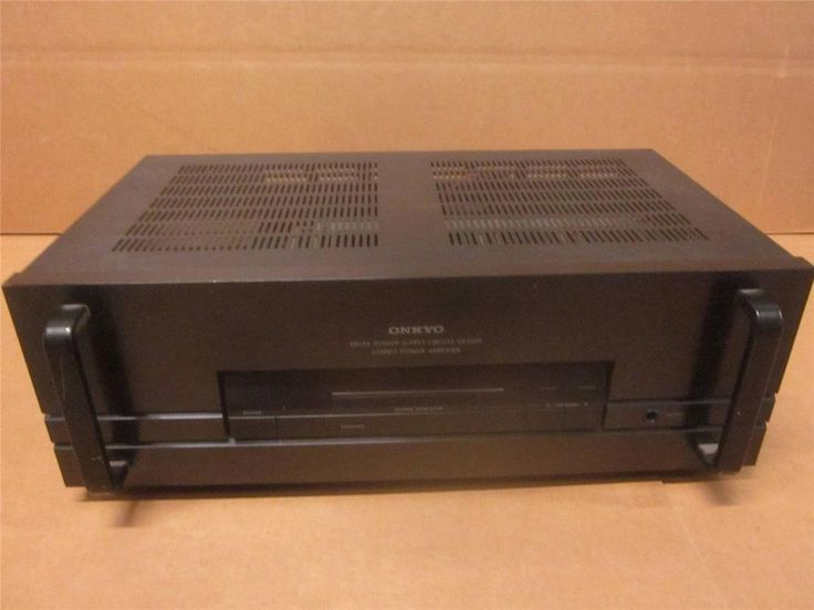 onkyo m 5160 2 channel power amplifier design. Black Bedroom Furniture Sets. Home Design Ideas