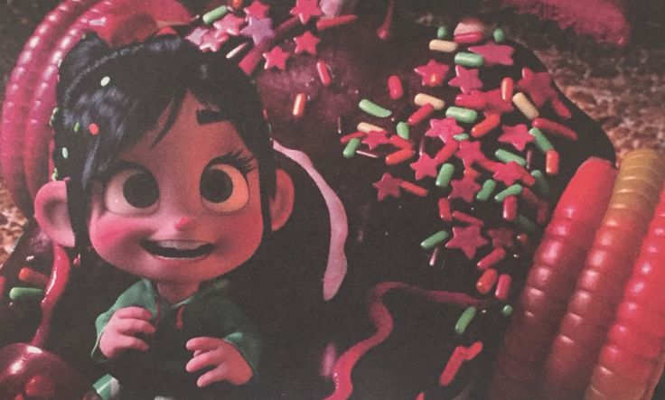 Vanellope gives Ralph A hard time but she comes to love the big numbskull