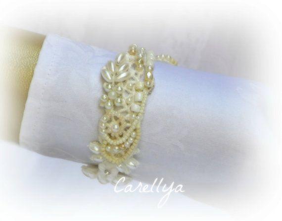 Wedding Pearl Bracelet, Bridesmaid Bracelet, Bridal Jewelry, express shipment