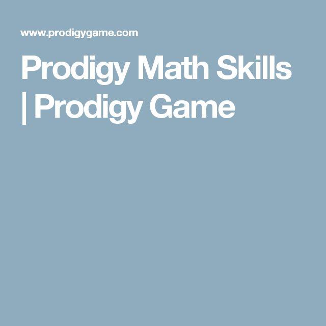 Prodigy Math Skills | Prodigy Game