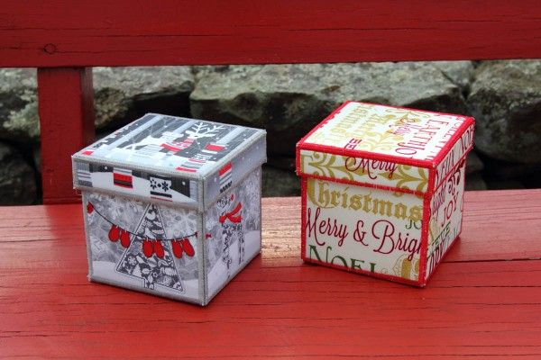 Make fabric boxes to wrap up special gifts this year! All you need is a little fabric, a few sewing supplies, and this tutorial from WeAllSew.