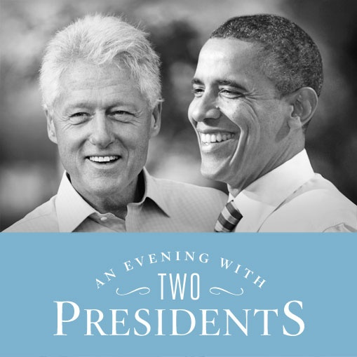 Make a donation of whatever you can to support Democrats today, and you'll be automatically entered to join Presidents Obama and Clinton in New York. This is an opportunity you don't want to pass up. https://my.democrats.org/page/contribute/two-presidents?source=pinterest
