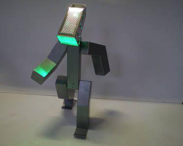 """""""Il Grattugia"""" - Scultura luminosa della collezione """"I Gagni"""" A luminous sculpture from the collection """"I Gagni"""""""