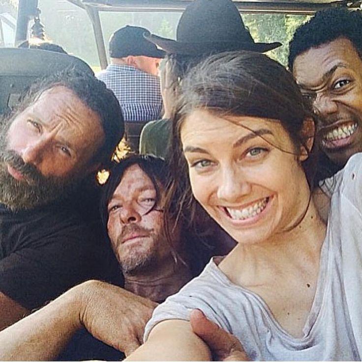 Andy, Norman, Lauren, Tyler (and Chandler).