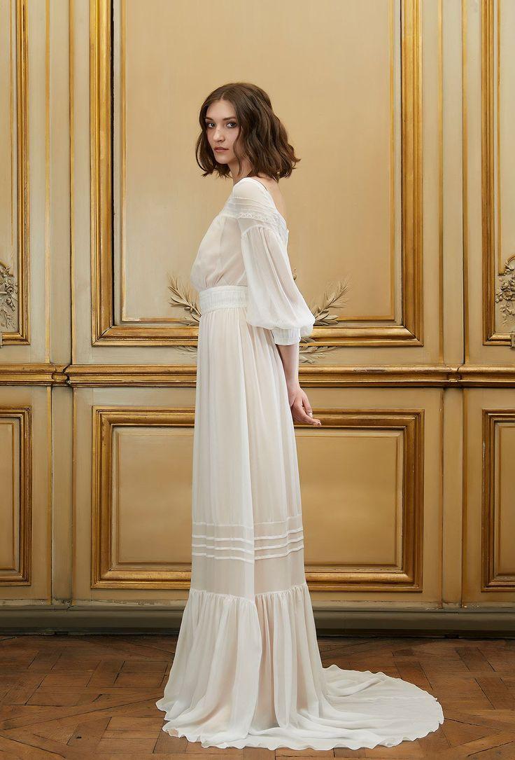 Sur-Robe de mariée Tobias - Printemps-été 2015 - Pagan Bride Campagne - Delphine Manivet
