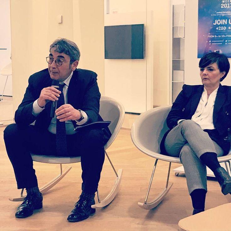 Il Direttore Generale di #bancacarim Giampaolo Scardone ad #innovationsquare a parlare di crowdfunding per le startup nel corso della Startup Europe Week. #sew17 #instagram #bancacarim