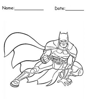Free Printable Coloring Pages. Give a like if you love Batman?