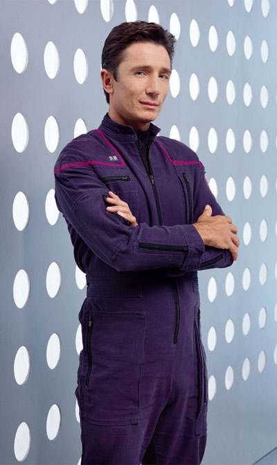 Dominic Keating, as Lt Malcolm Reed of 'Star Trek: Enterprise'