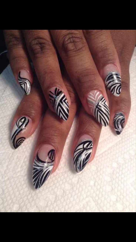 92 best negative space nails images on Pinterest | Nail scissors ...