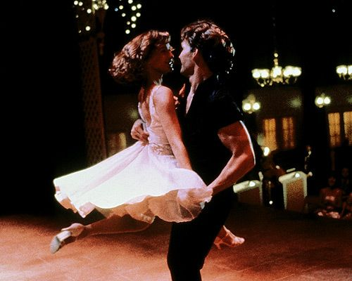Always have loved the dress Baby wears in the final dance scene in Dirty Dancing. <3<3<3
