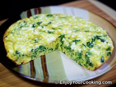 Spinach Crustless Quiche