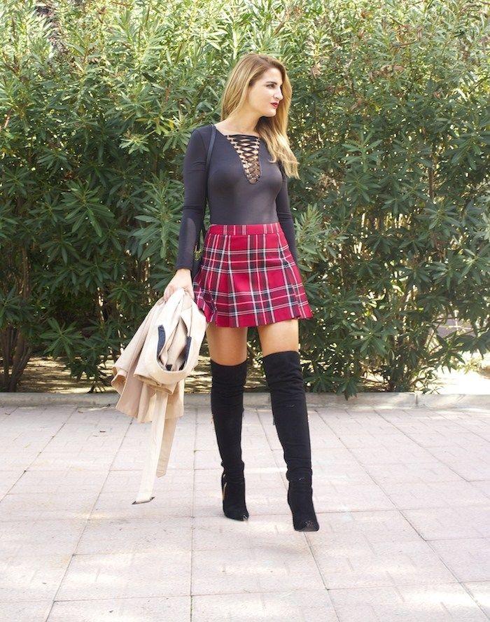 aula Fraile body fashion pills amaras la moda falda benetton bolso Michael Kors 2
