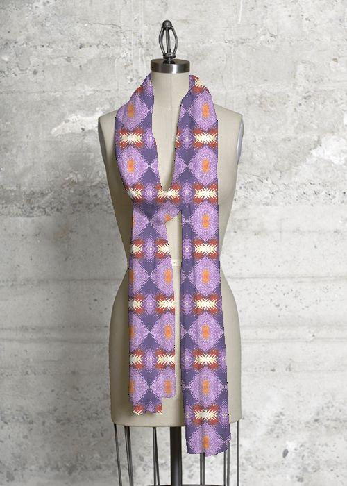 Cashmere Silk Scarf - DEW DROPS 2 by VIDA VIDA NyYEMk