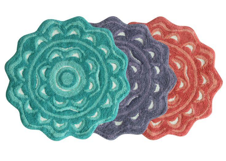 Bath mats from the Jessica Simpson Bath Collection #aprilshowers