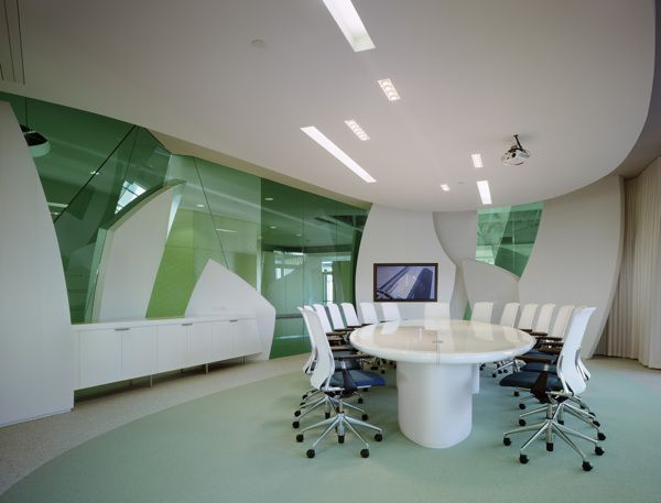 Maguire Partners, Los Angeles by Clive Wilkinson Architects , via Behance