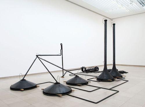 """Mark Manders ( Dutch Artist). """"Mind Study"""", 2011. Gallery ZenoX, Antwerp, Belgium."""