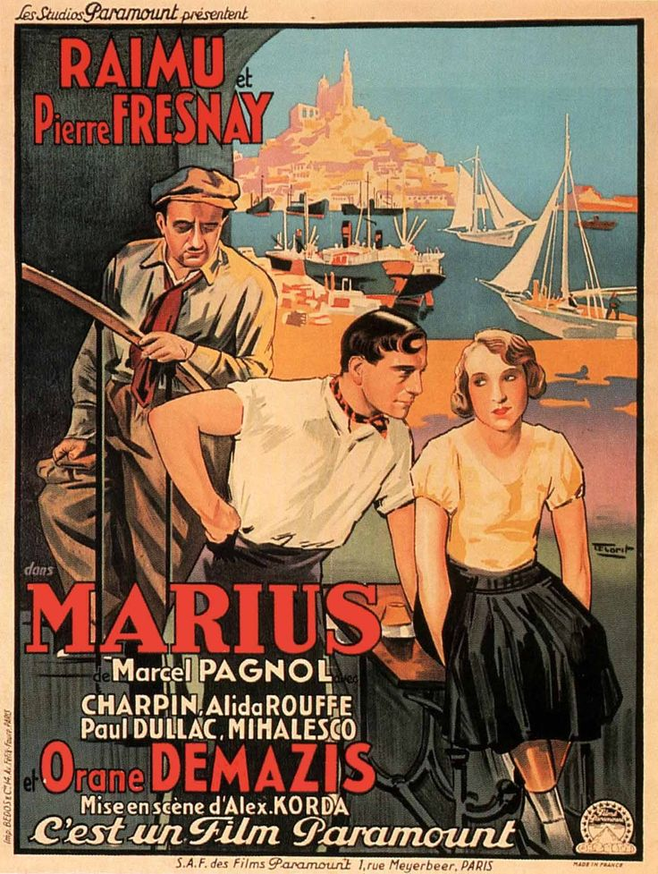 Francomac™: Pagnol-Trilogie Marseillaise: 1-Marius