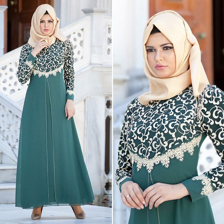 ZERNIŞAN - EVENING DRESS - 540611Y #hijab #naylavip #hijabi #hijabfashion #hijabstyle #hijabpress #muslimabaya #islamiccoat #scarf #fashion #turkishdress #clothing #eveningdresses #dailydresses #tunic #vest #skirt #hijabtrends✖️More Pins Like This One At FOSTERGINGER @ Pinterest✖️