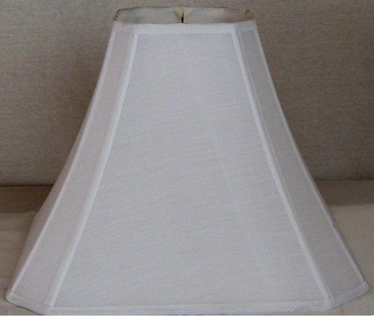 "15"" Shantung Silk Square Lamp Shade"