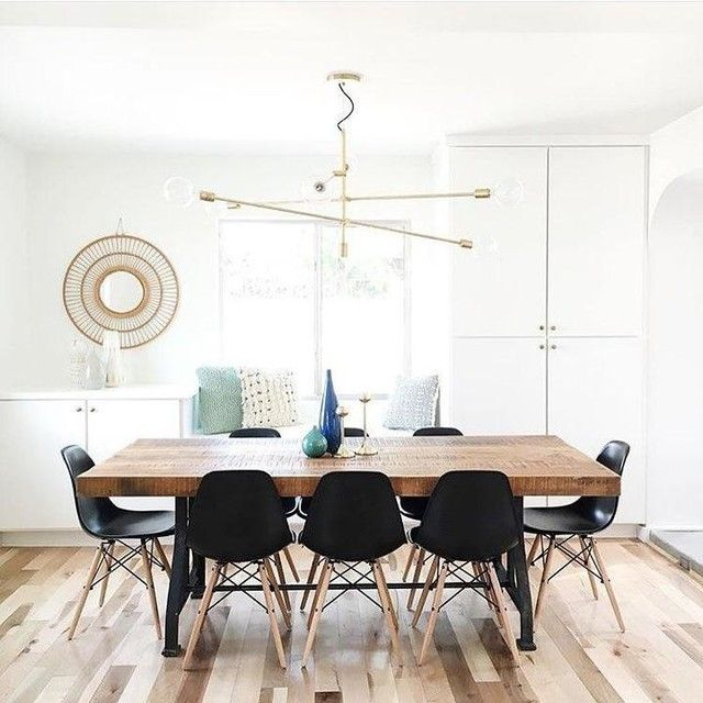 We Love How The Dining Area Designed Turned Out For A Home Recently Renovated With Some Friends Way Natural Light Pours In Is Just