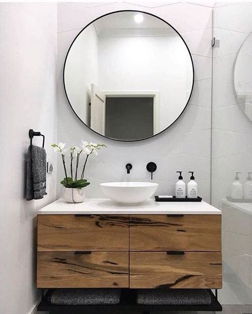 Bathroom Mirror Ideas - Case in points or concepts to add a ...