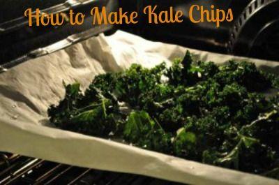 Kale Chips: Shockingly Scrumptious!