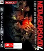 Metal Gear Solid 4: Guns of the Patriots  (preowned)