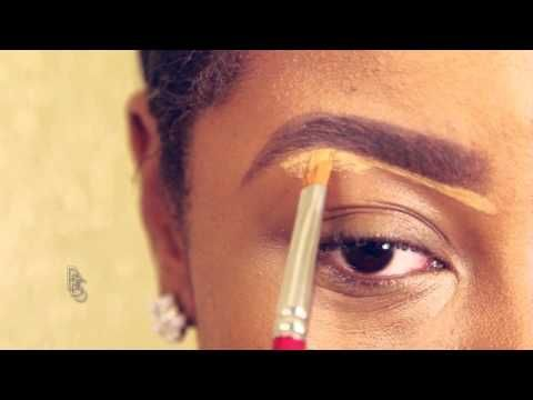 ▶ How to makeup tutorial for black women beginners wit easy steps - YouTube
