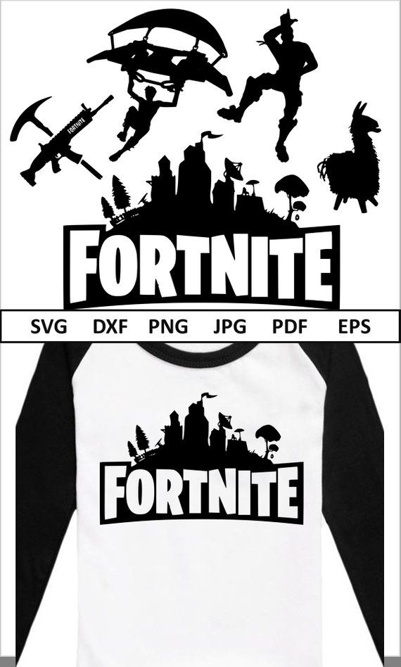 Fortnite Svg Bundle Fortnite SVG for Cricut Silhouette Fortnite