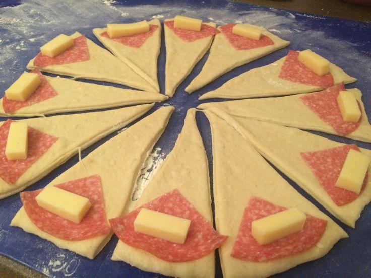 Slané croissanty, ktoré si zamilujete. Podľa foto receptu ich zvládne pripraviť každý.