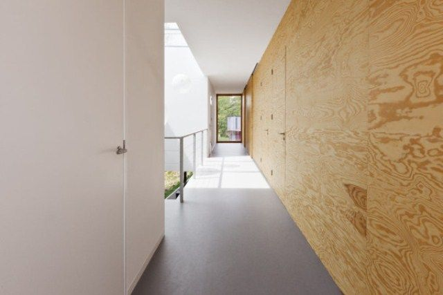 Minimalist Home 09 Of Pine Plywood | DigsDigs