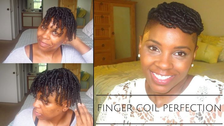 How To: Finger Coils on Natural Hair (Perfect Coils)