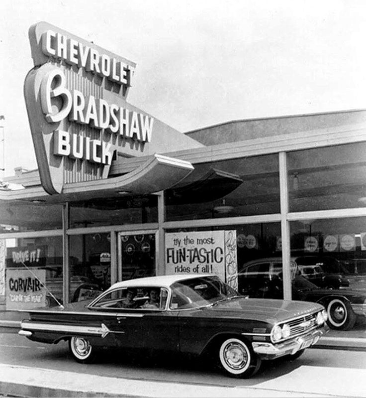 Ford Dealerships Los Angeles: 213 Best Images About Vintage Car Dealership On Pinterest