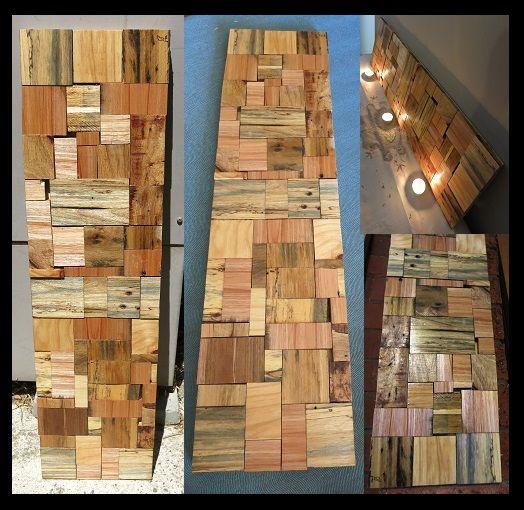 Salvaged Pallet Art (aka 'Castaway').  #woodwork #pallets #australia  http://www.newleafwoodwork.com.au/for-sale/onceoffdesigns