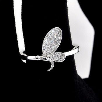 Inel argint Libelula doar pe www.silverbox.ro