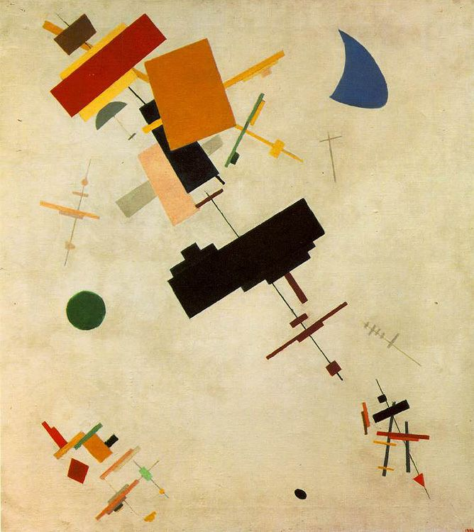 Kasimir Malevich, Supremus nr. 56, 1916, oilpaint on canvas, 80.5x71 cm