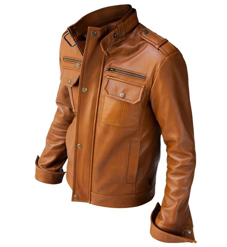 Brown Color Jacket | Fit Jacket
