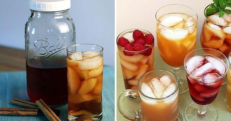 Osvěžující ledové čaje bez vaření