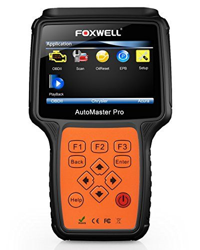 FOXWELL NT614 OBD2 Auto Diagnostics Code Scanners OBD II Automotive Scan Tool Check Car Engine ABS SRS Airbag Transmission Fault Code Readers 4 System Tester with EPB and Oil Service Light Reset. For product info go to:  https://www.caraccessoriesonlinemarket.com/foxwell-nt614-obd2-auto-diagnostics-code-scanners-obd-ii-automotive-scan-tool-check-car-engine-abs-srs-airbag-transmission-fault-code-readers-4-system-tester-with-epb-and-oil-service-light-reset/
