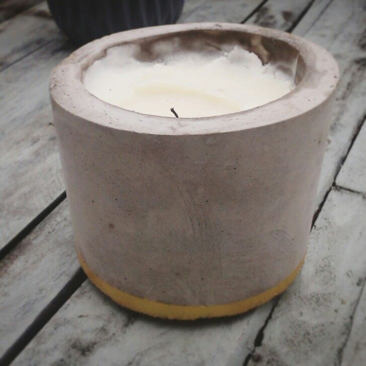 #beton #candle #handemade