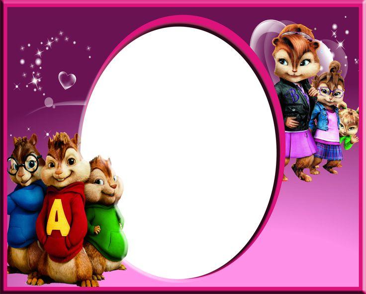 Marco para foto Disney - Alvin y las ardillas