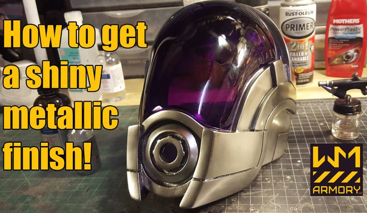 """cosplaytutorial: """" How to Get a Shiny Metallic Finish Tutorial by:  WM Armory Tutorial Link: http://www.wmarmory.com/?p=3665 """""""
