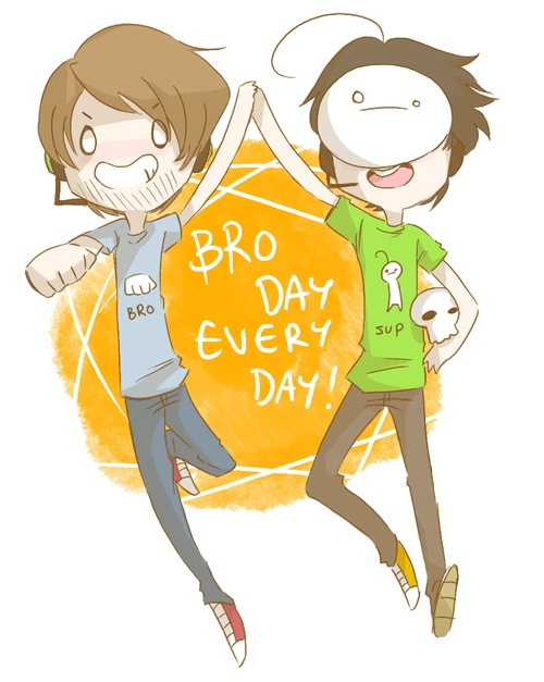 These two YouTubers are bros, so I don't understand the hate the bros seem to have towards Cry and the other YouTubers Pewdie has done collaborations with. That is all uncalled for, because look! These two are bros, and bros don't badmouth bros! Live in peace, bros!