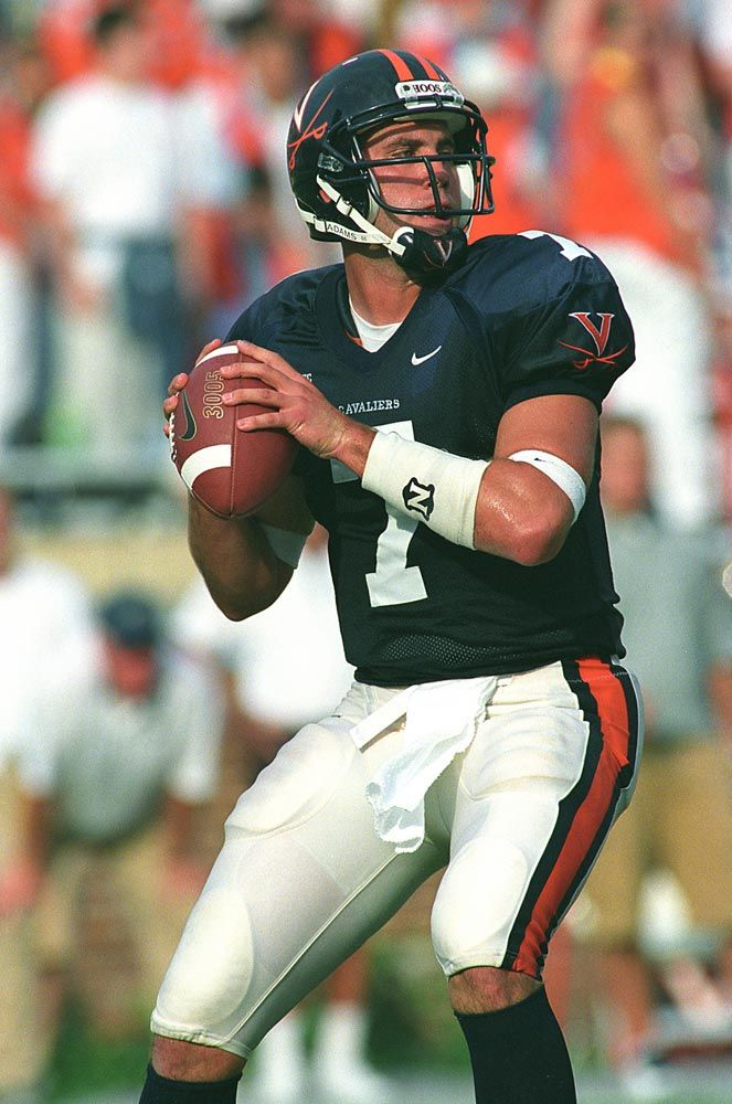 Virginia's Top 5 Quarterbacks Football uniforms, College