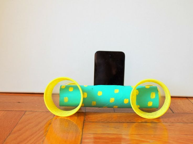 Easy to make Cardboard Roll ipod speakers - Genius!