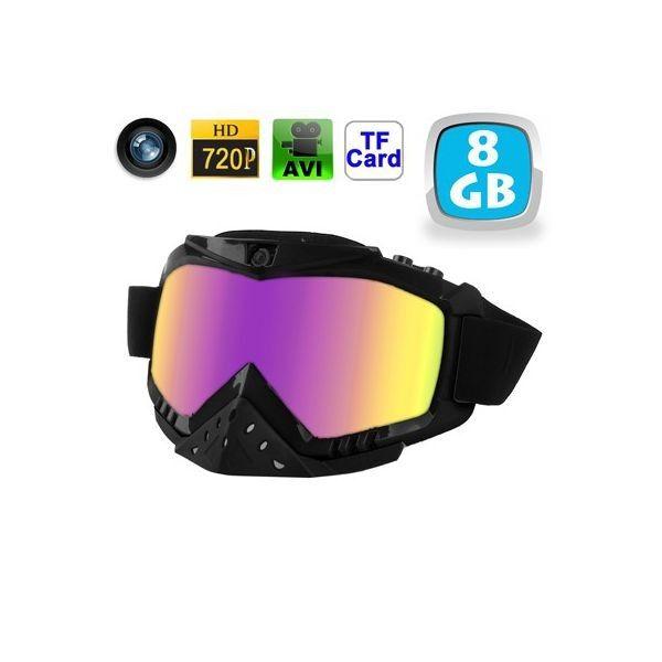 Lunettes caméra sport embarquée masque de ski - Idéal pour les vacances au ski - 119.00€
